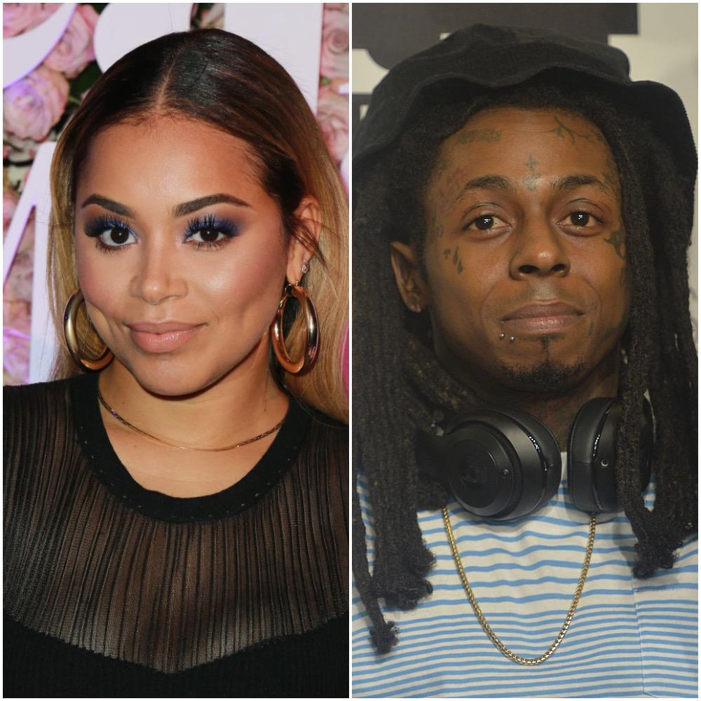 Lauren London and Lil Wayne