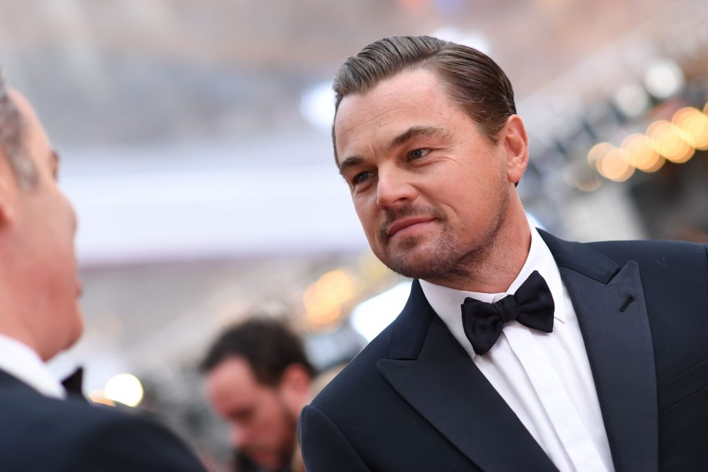 Leonardo DiCaprio arrives for the 92nd Oscars at the Dolby Theatre