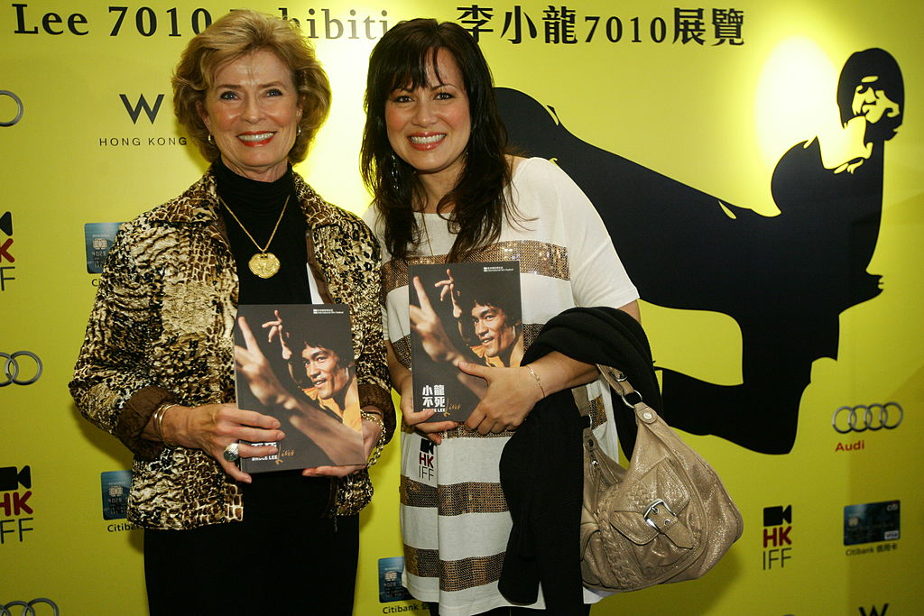 Linda Lee Cadwell and daughter Shannon Lee