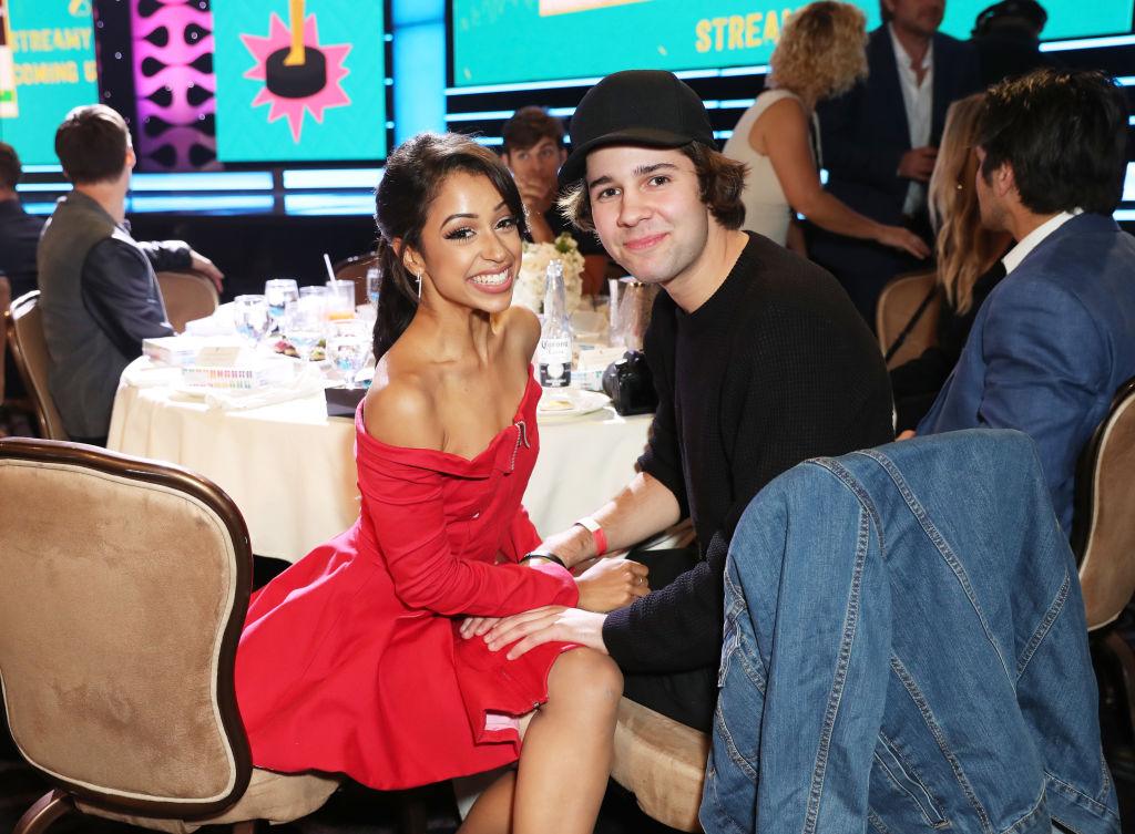 Liza Koshy and David Dobrik of youtube