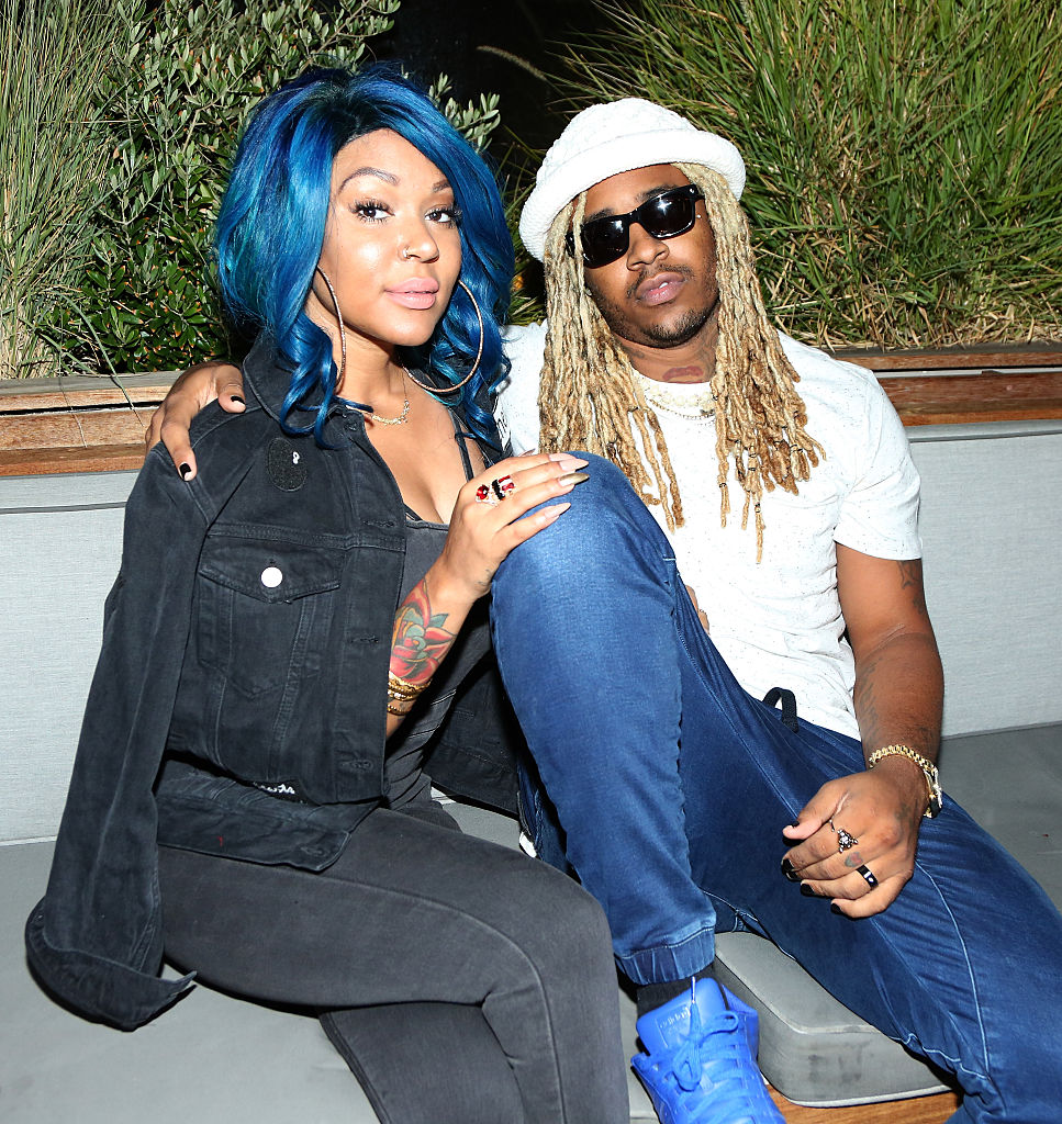A1 Bentley and Lyrica Anderson in 2016