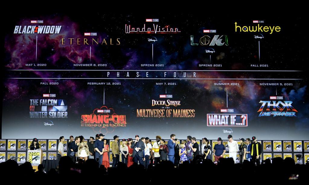 Marvel MCU Phase 4 Slate
