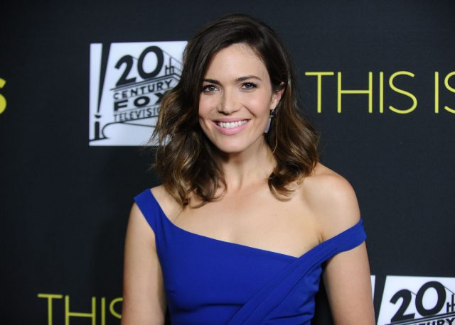 Mandy Moore attends the 'This Is Us' FYC screening and panel