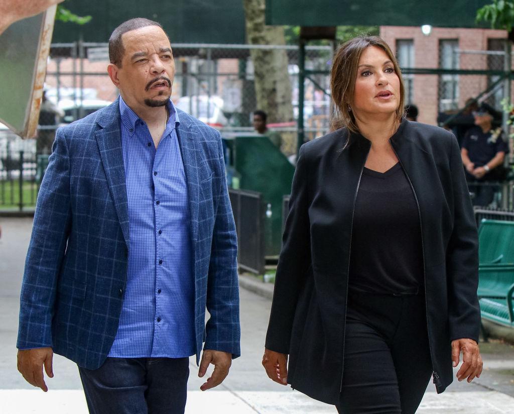 Mariska Hargitay and Ice-T on 'Law & Order: SVU'