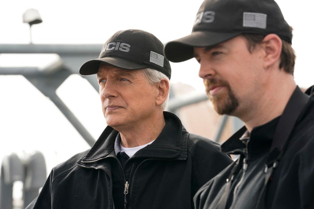Mark Harmon and Sean Murray   Cliff Lipson/CBS via Getty Images