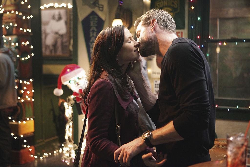 """Chyler Leigh as Lexie Grey and Eric Dane as Mark Sloan on ABC's """"Grey's Anatomy"""" - Season Seven"""