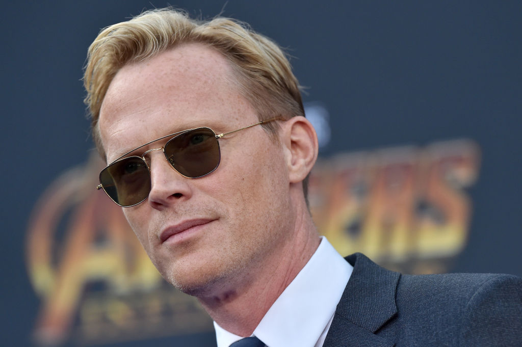 Actor Paul Bettany attends the premiere of Disney and Marvel's 'Avengers: Infinity War'