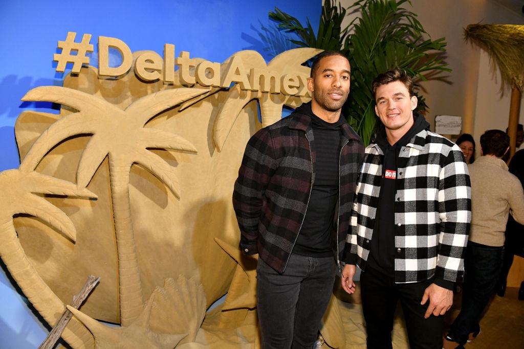 The Bachelor Matt James and Tyler Cameron