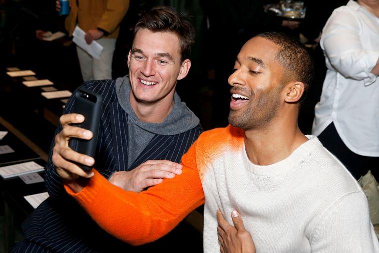 Matt James and Tyler Cameron of the 'Bachelor' franchise