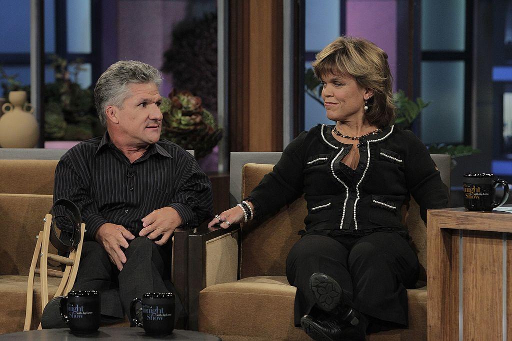 Matt and Amy Roloff during an interview