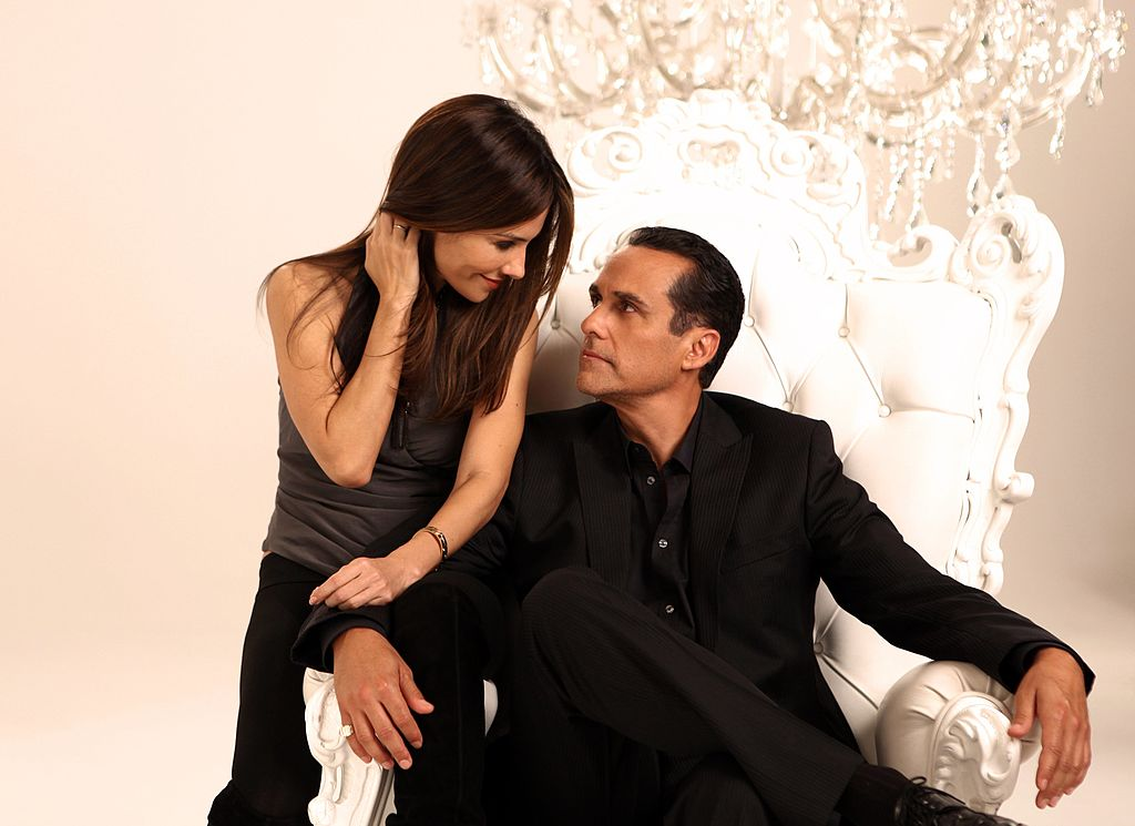 Vanessa Marcil and Maurice Benard of 'General Hospital' in 2010 |