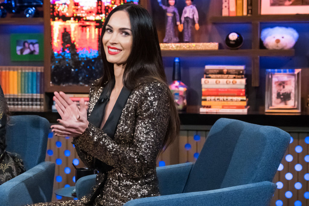 Megan Fox on WATCH WHAT HAPPENS LIVE WITH ANDY COHEN | Charles Sykes/Bravo/NBCU Photo Bank/NBCUniversal via Getty Images