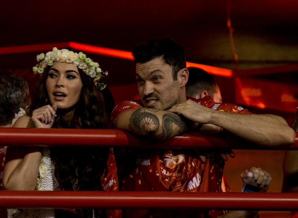 Megan Fox and Brian Austin Green   Buda Mendes/LatinContent via Getty Images