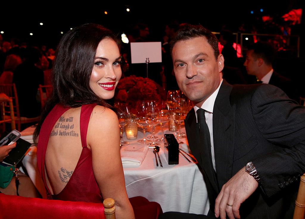 Megan Fox and Brian Austin Green |  Jonathan Leibson/Getty Images for Ferrari North America