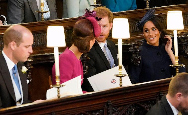 Meghan Markle, Prince Harry, and Kate Middleton