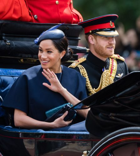 Meghan Markle at Trooping the Colour in 2019