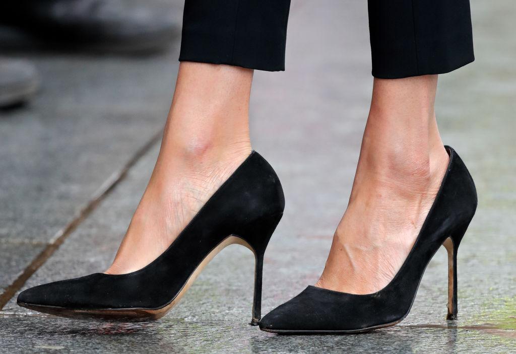 Meghan Markle high heels