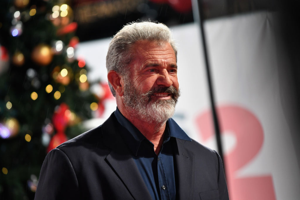 Mel Gibson at an event