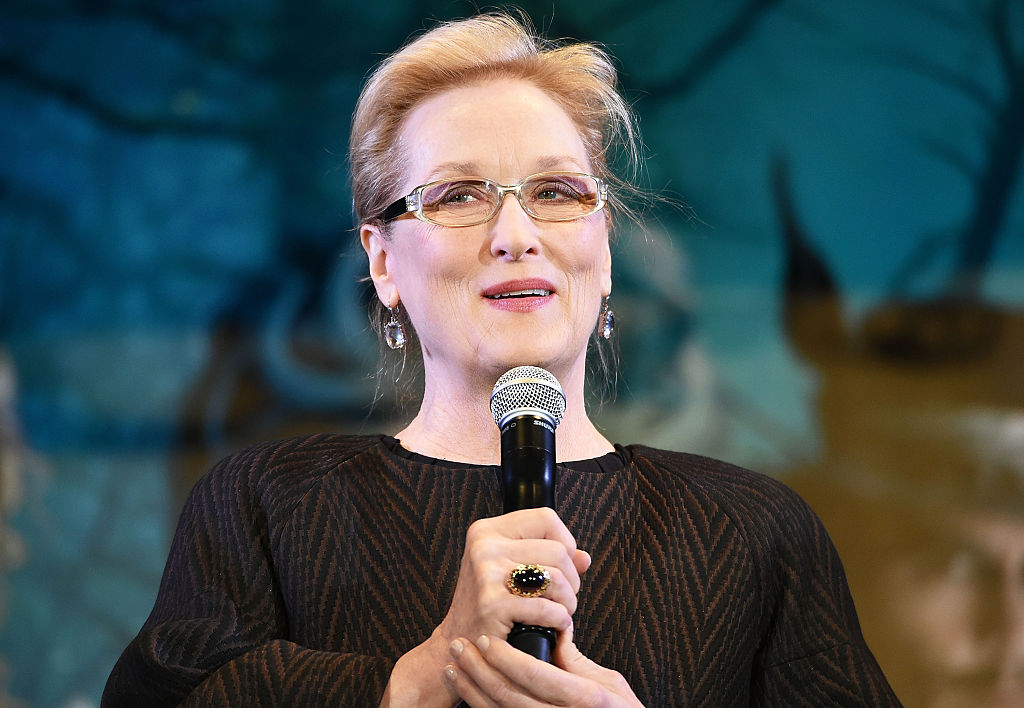 Actress Meryl Streep attends 'Into the Woods' Japan Premiere