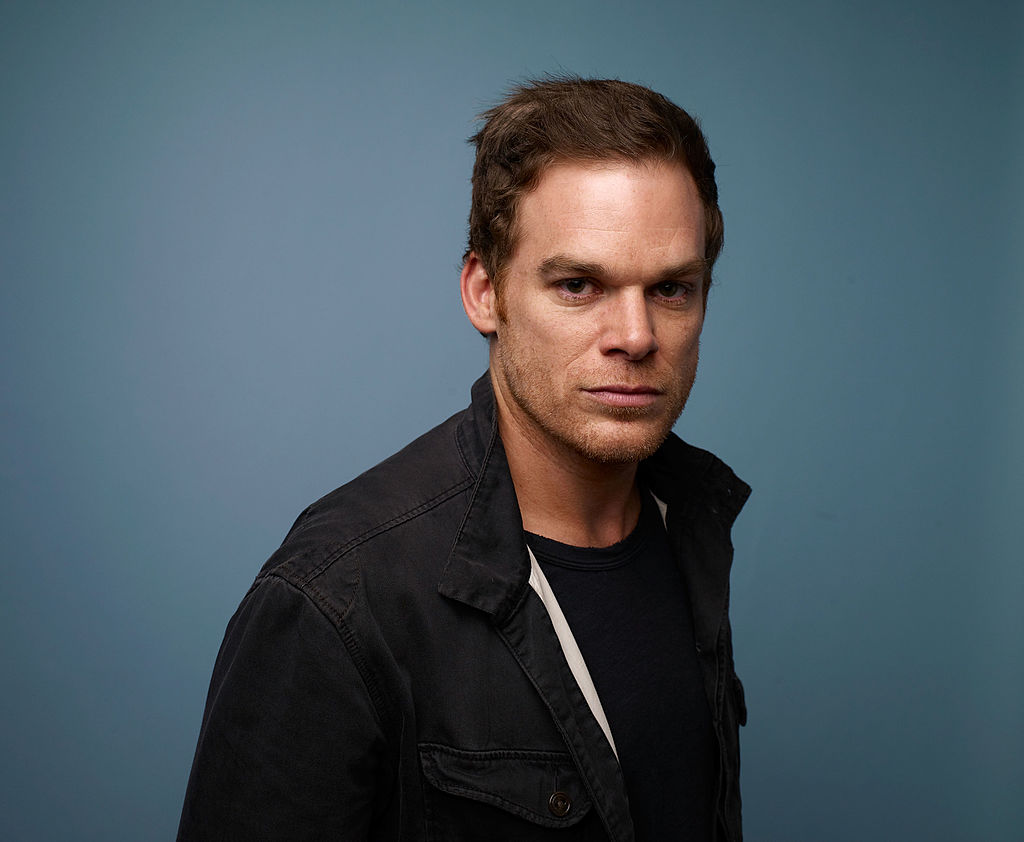 Michael C. Hall posing for a photo