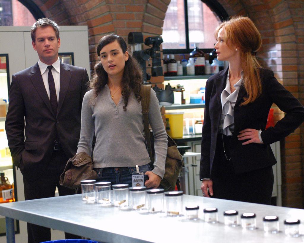Michael Weatherly, Cote de Pablo, Lauren Holly of NCIS