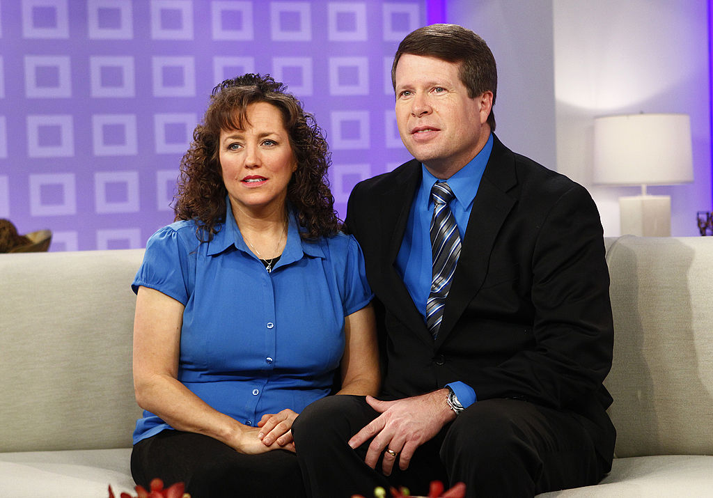 Michelle Duggar and Jim Bob Duggar appear on 'Today'