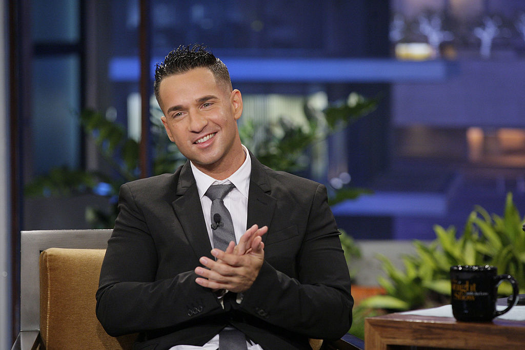 Mike 'The Situation' Sorrentino smiling, running his palms together