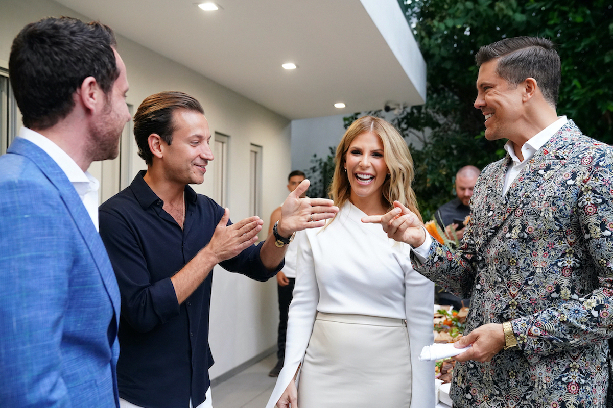 David Parnes, James Harris, Tracy Maltas, Fredrik Eklund from 'Million Dollar Listing'