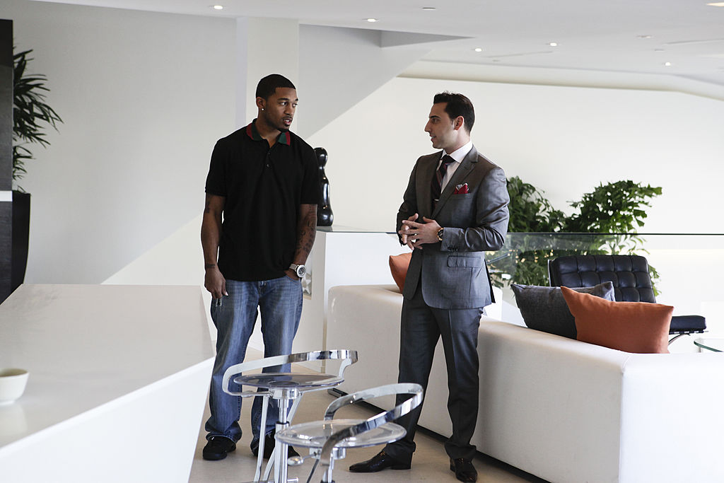 Orlando Scandrick, Josh Altman from 'Million Dollar Listing LA'