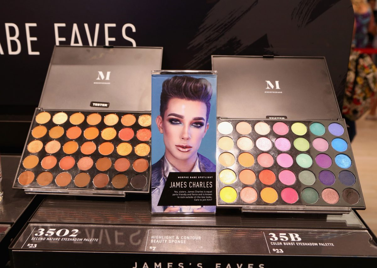 The opening of a Morphe store in Las Vegas