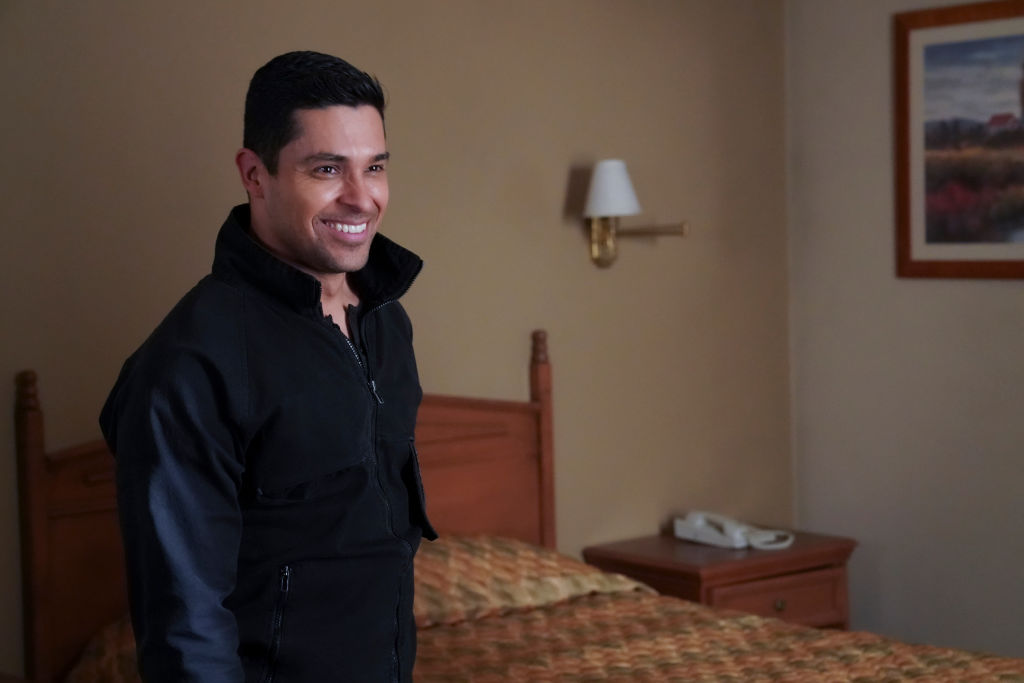 NCIS Wilmer Walderrama as Nick Torres smiling