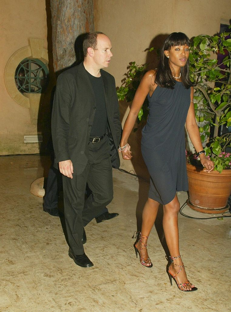 Naomi Campbell and Albert II, Prince of Monaco