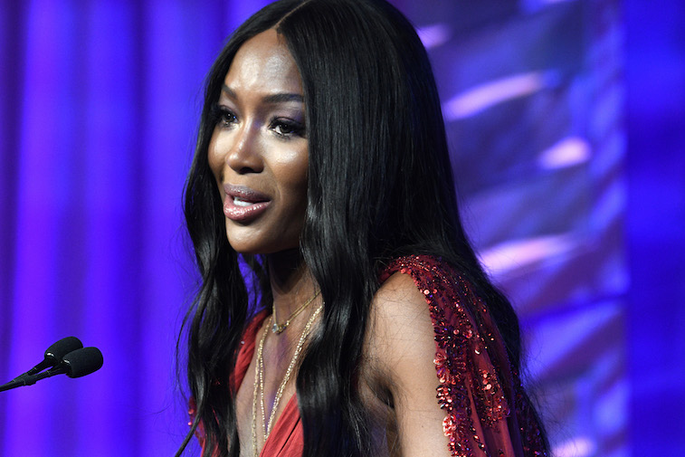 Naomi Campbell performs onstage