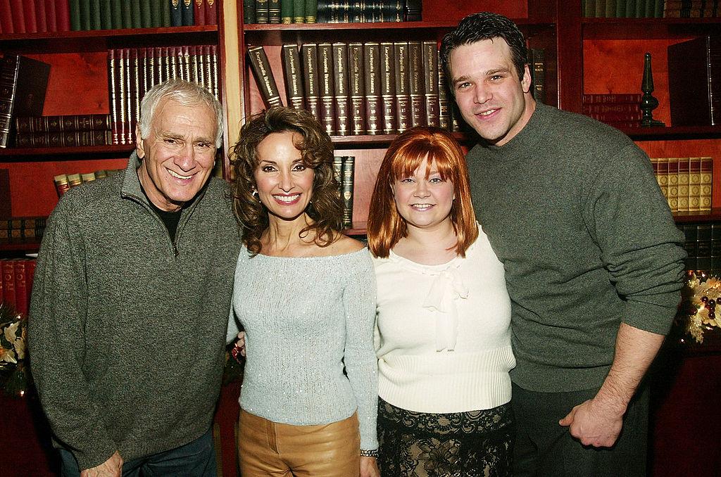 Actors Dick Latessa, Susan Lucci, Kathy Brier and Nathaniel Marston