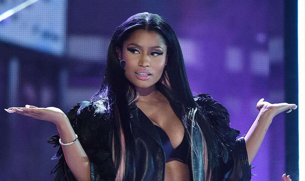 Nicki Minaj performing at an award show in May 2015