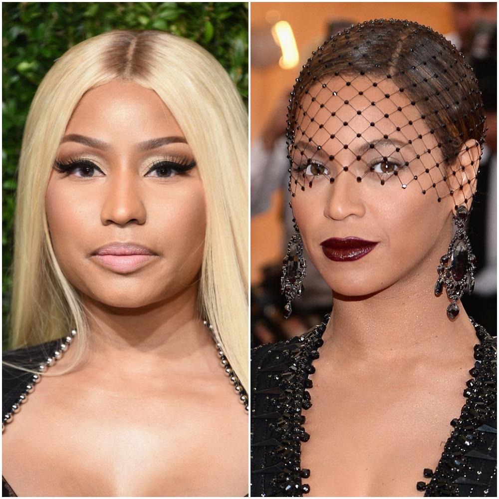 Nicki Minaj y Beyoncé