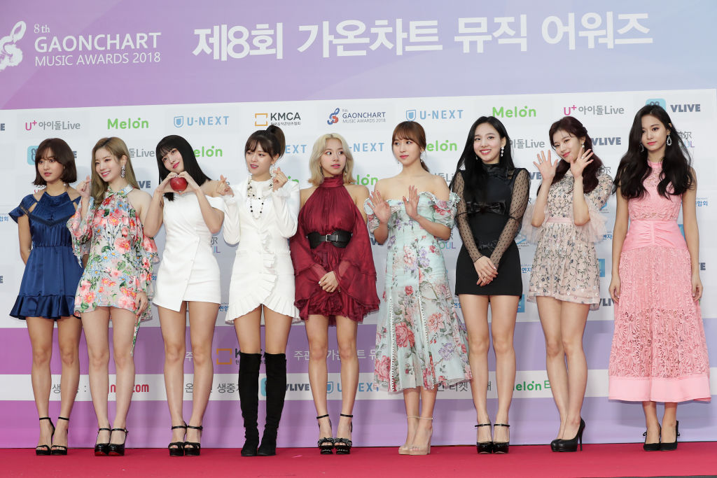 TWICE at The 8th Gaon Chart K-Pop Awards