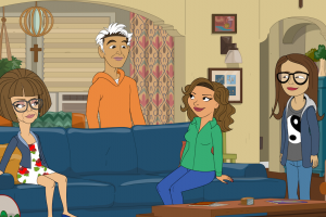 The 'One Day at a Time' Animated Special Expertly Tackled What It's Like When Latinx Family Members Are Conservative — Review