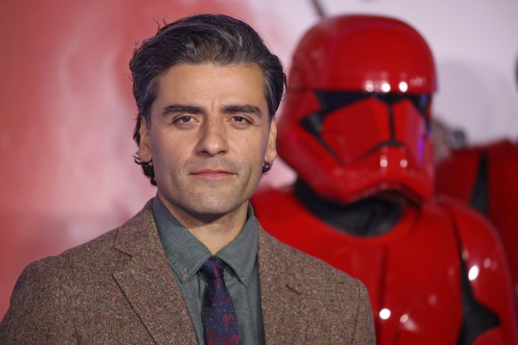 """Oscar Isaac at the 'Star Wars: The Rise of Skywalker"""" European premiere"""
