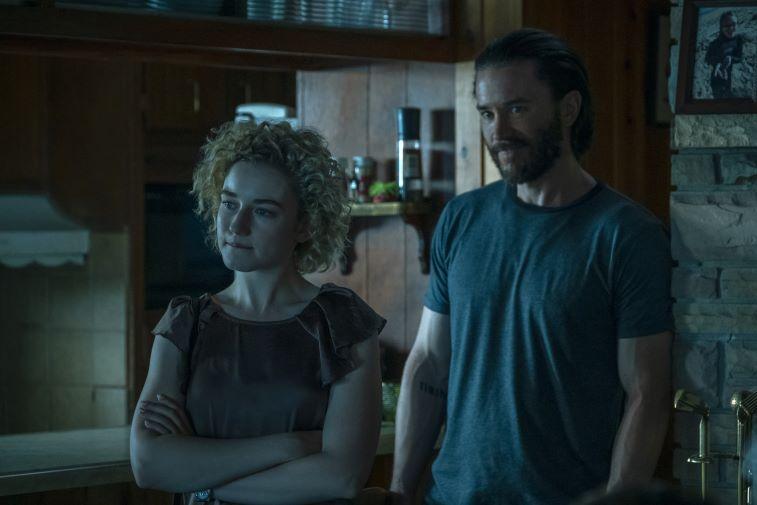 'Ozark' Julia Garner as Ruth Langmore and Tom Pelphrey as Ben Davis