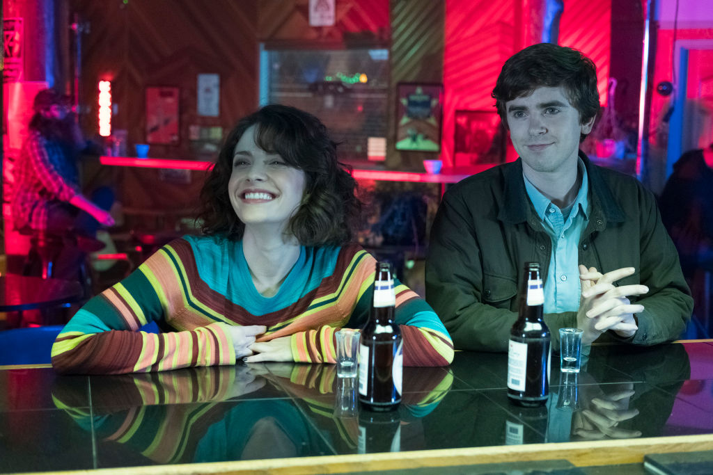 Paige Spara and Freddie Highmore on 'The Good Doctor.' | Eike Schroter/Walt Disney Television via Getty Images