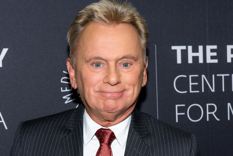 Pat Sajak on the red carpet