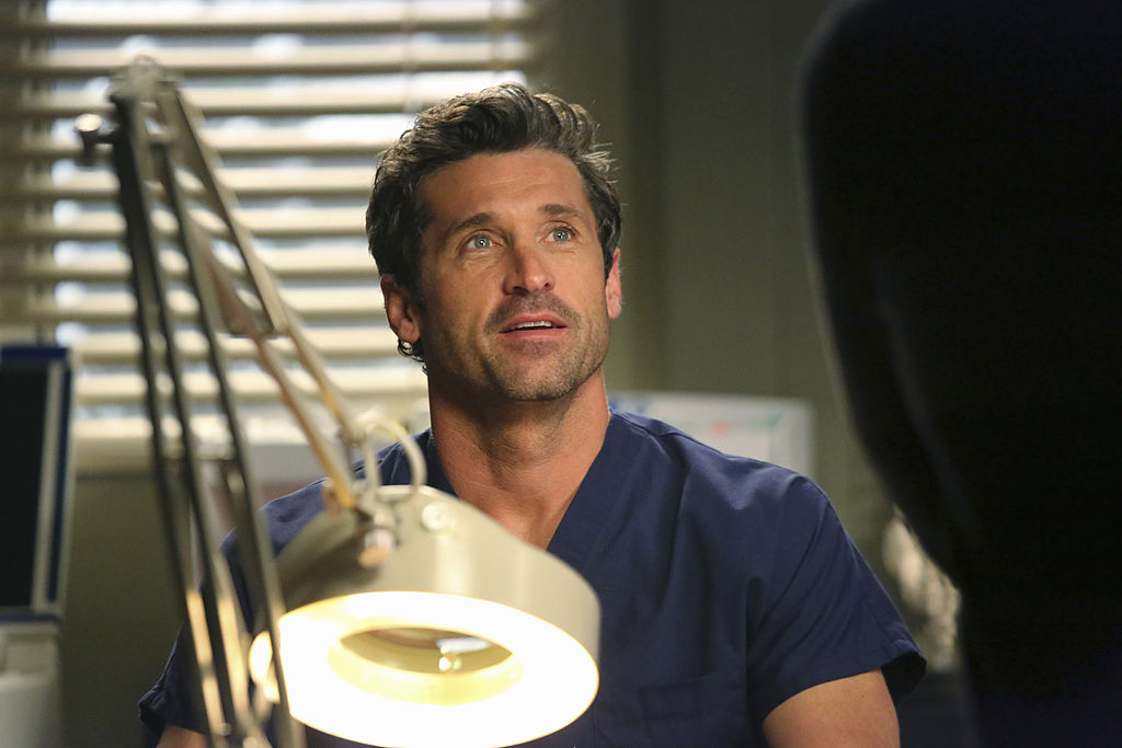 "Patrick Dempsey as Derek Shepherd on ABC's ""Grey's Anatomy"" - Season Ten"