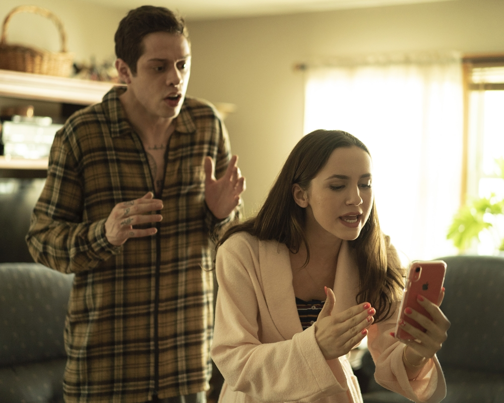 The King of Staten Island: Pete Davidson and Maude Apatow