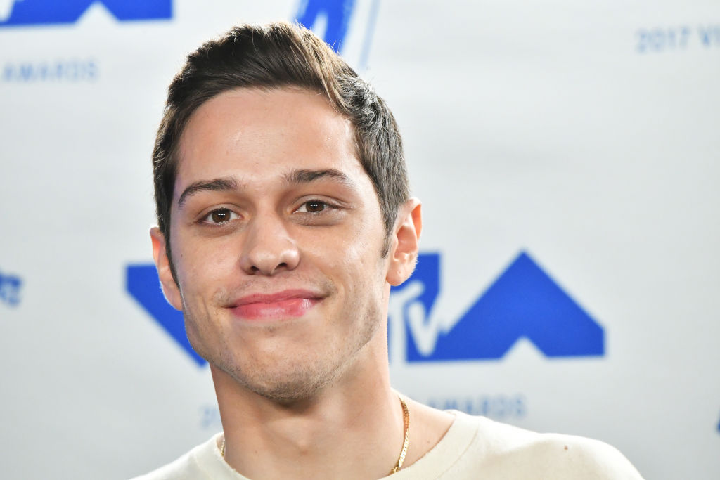 Pete Davidson on the red carpet at an award show in August 2017