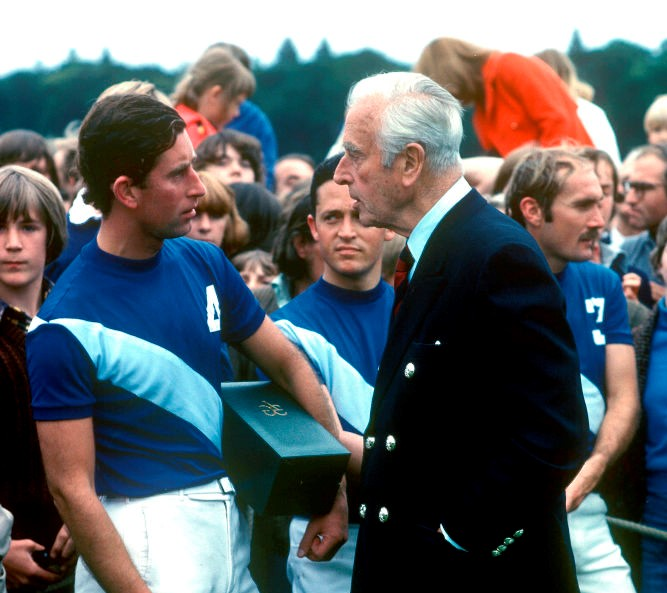Prince Charles and Lord Mountbatten