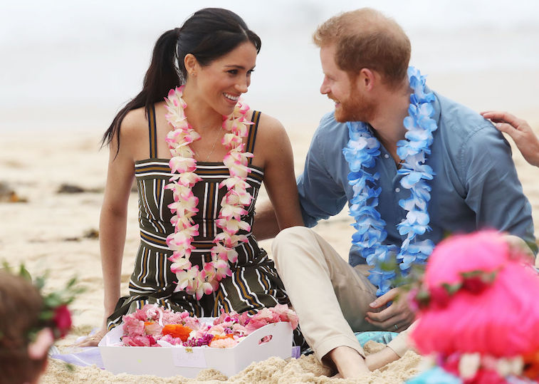 Prince Harry and Meghan Markle in 2018