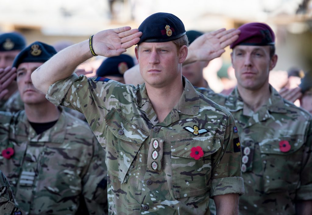 Prince Harry served 10 years in the military.