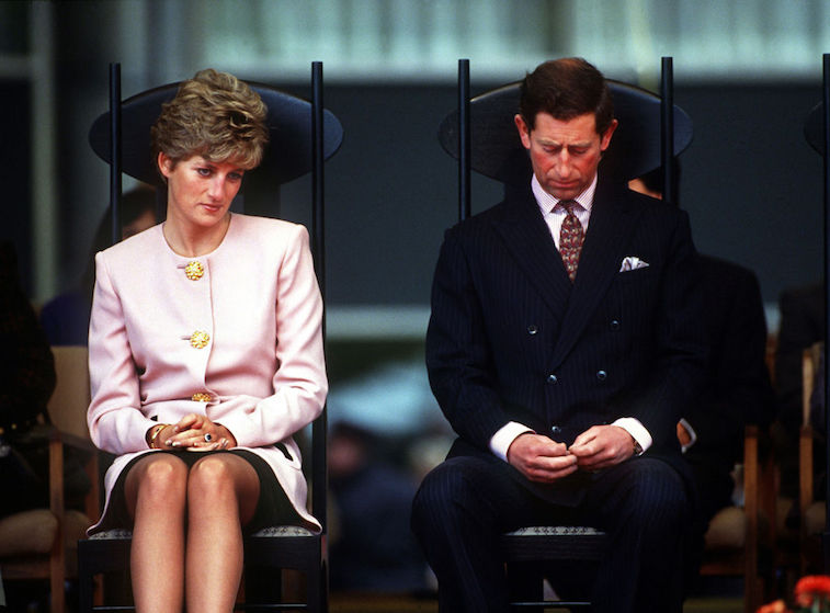 Princess Diana and Princes Charles