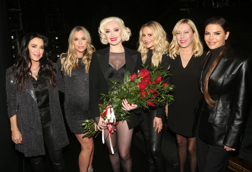 'The Real Housewives of Beverly Hills' Kyle Richards, Teddi Mellencamp, Erika Jayne as 'Roxie Hart', Dorit Kemsley, Sutton Stracke and Lisa Rinna